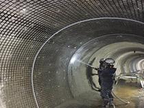 トンネル暗渠グリッド補強