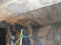 貯水施設補修